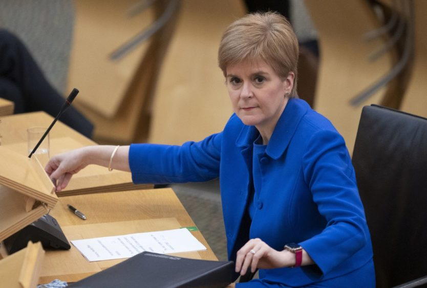 Nicola Sturgeon urged people to continue to follow the rules.