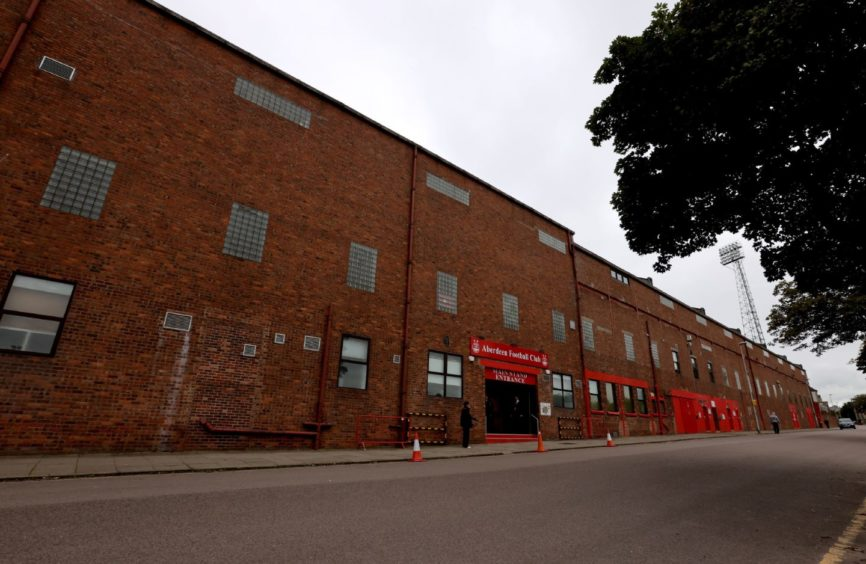 Pittodrie Stadium could be used to roll out Covid-19 vaccinations.