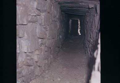 The tunnel where Max's body was discovered.
