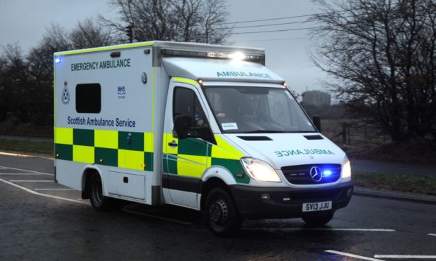 The ambulance was stolen in Kemnay.