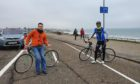 Three north-east cycling groups have written a joint letter to Aberdeen City Council urging it to keep the beach cycle lane.