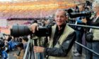 Photographer Colin Rennie at the Olympics