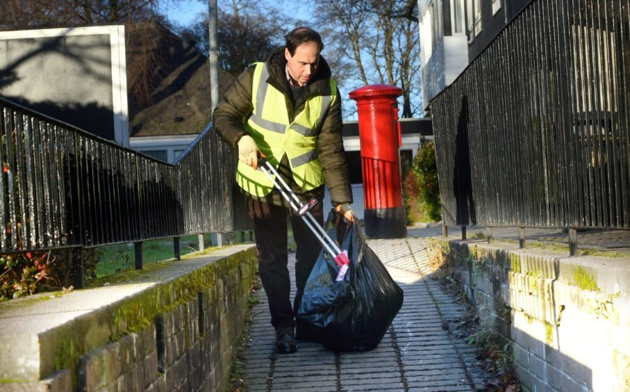 Martin Greig is on a mission to clean up his ward.