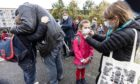 Parents are being asked to wear masks at the school gates.