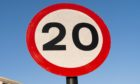 A new housing development in Dunecht is proposed to be made a 20mph speed limit