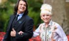 Dame Barbara Windsor with her husband Scott Mitchell last year.