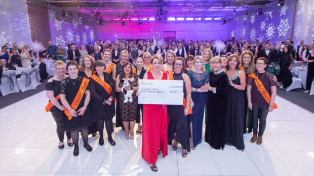 Last year's Charlie House Big Build Ball, where the auctions normally take place. This year has had to be cancelled due to Covid-19.