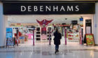 Debenhams in Aberdeen's Trinity Centre.