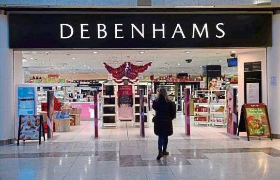 Aberdeen have already lost Debenhams