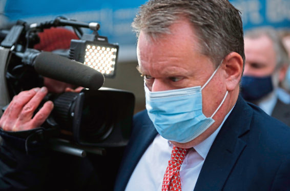 Britain's chief negotiator David Frost