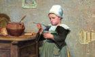 A Frugal Meal, Alexander Mackenzie, 1888