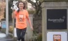 Charlie House is encouraging people to take part in its fundraising 1,000 miles challenge. Pictured is Karen Molloy, who has previously taken part.