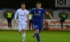 Scott Brown in action for Peterhead