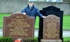 Charlie Thom is unhappy with Aberdeenshire Council after being told he cannot be buried in his family plot.