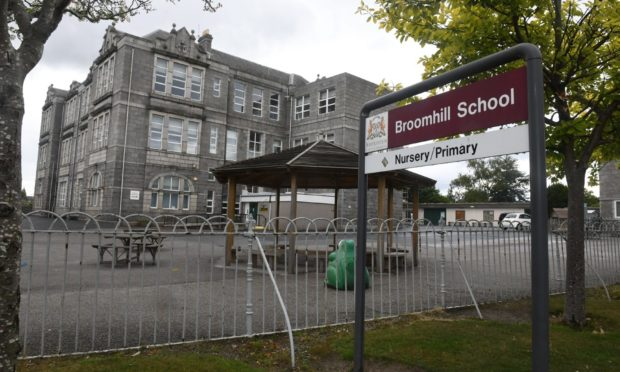 Broomhill Primary School in Aberdeen.