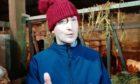 """Rural Affairs Correspondent"" Jock Alexander in one of the videos for NHS Grampian."
