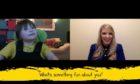 Baxter Dick, 9, interviews Lauren Mitchell on Archie Grampian's Facebook page.
