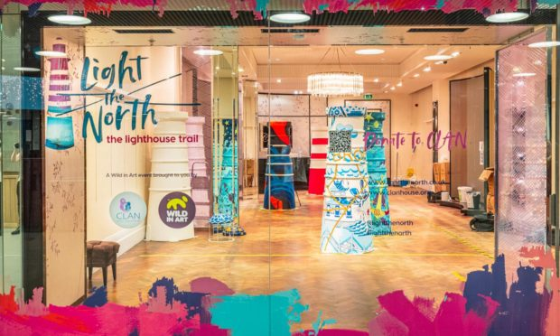 The Bon Accord centre has offered up a shop space for CLAN's Light The North trail.