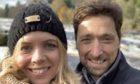 Lindsay Smith with her husband Chris Smith