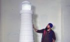 MrASingh with the lighthouse.