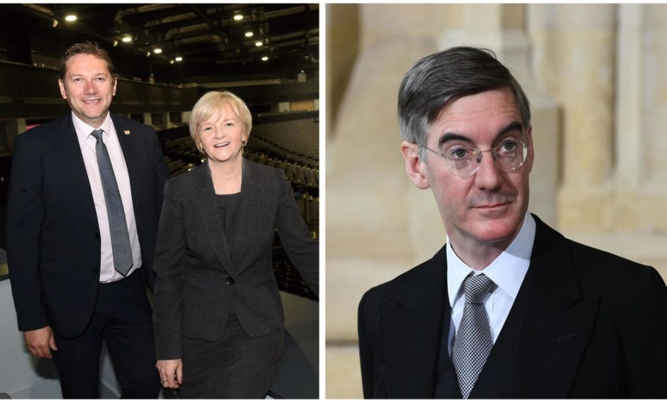 """Jacob Rees-Mogg claims Aberdeen City Council bosses have rejected the """"failures"""" of the Scottish Government."""