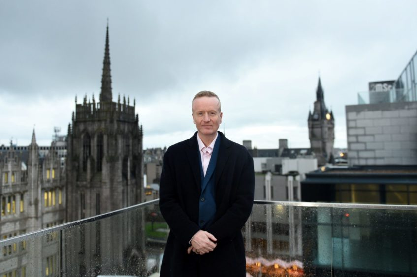 Aberdeen Inspired chief executive Adrian Watson