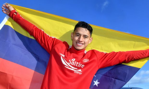Ronald Hernandez on signing for Aberdeen.