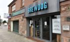 Pictured is Brewdog, Inverurie during the Coronavirus pandemic.  Pictured 14/04/2020 Picture by DARRELL BENNS