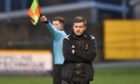 Allan Hale secured his first win as Huntly manager in the Scottish Cup