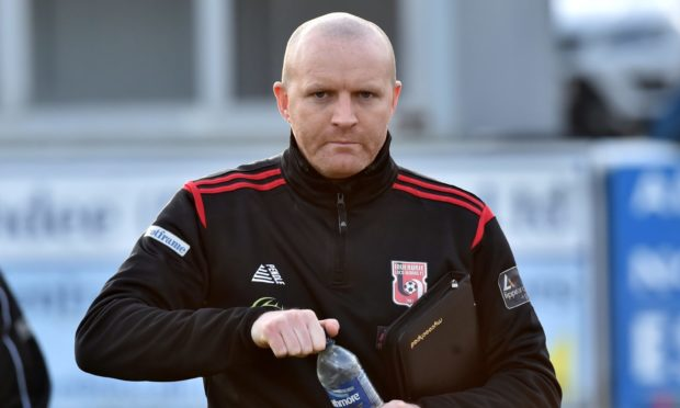 Inverurie Locos manager Andy Low