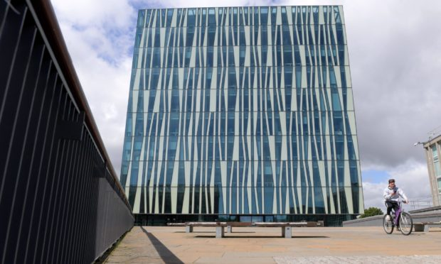 Sir Duncan Rice Library is one of the locations proposed for a new wayfinding board