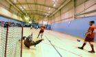 Training at Sheddocksley Sports Centre.
