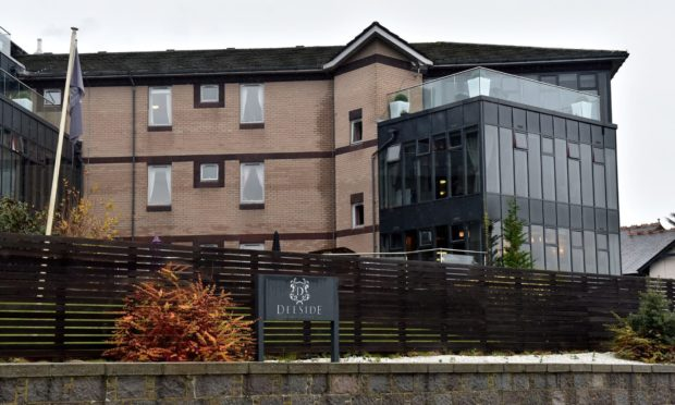 Deeside Care Home in Cults.