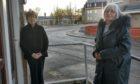 Service user Evelyn Emslie and volunteer Kath Slingsby.