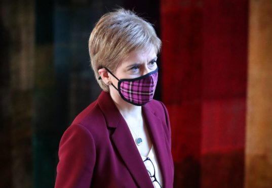 """First Minister Nicola Sturgeon has described the vaccine's approval as """"very good news"""""""