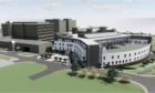 An artist's impression of what the Baird Family Hospital and ANCHOR Centre site will look like.