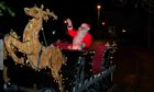 The familiar sight of the Rotary Santa Sleigh will still be seen in 2020 around the Alford, Sauchen and Monymusk area
