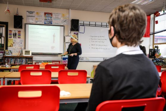 More than £750,000 has been spent on PPE for use in Aberdeen's schools.