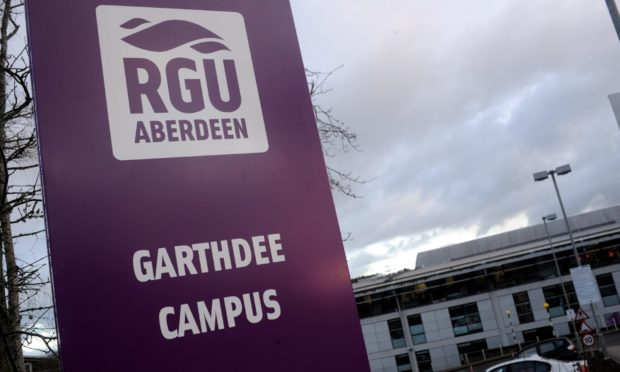 Robert Gordon University in Aberdeen.