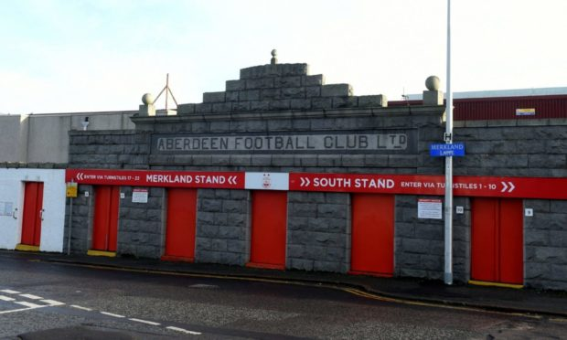 A mural will be painted at Pittodrie Stadium