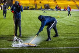 Livingston v Aberdeen called off for second time after Almondvale fails another late pitch inspection