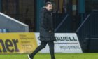 Aberdeen manager Derek McInnes after the loss at Ross County.