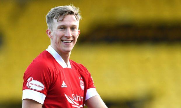 Aberdeen midfielder Ross McCrorie