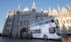 The world's first hydrogen double deckers will come into service in Aberdeen tomorrow