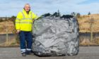 A polystyrene recycling trial has resumed at three north-east centres.