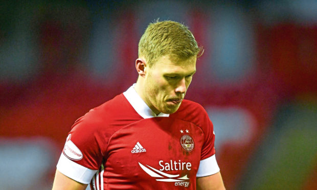 Aberdeen's Sam Cosgrove.