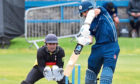 Kyle Coetzer in action for Scotland at Mannofield.