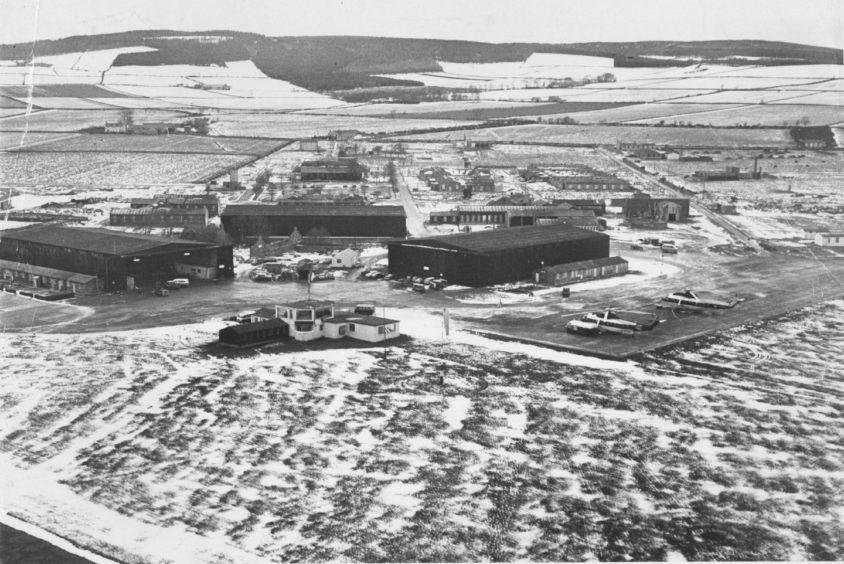 1971: Aberdeen Airport