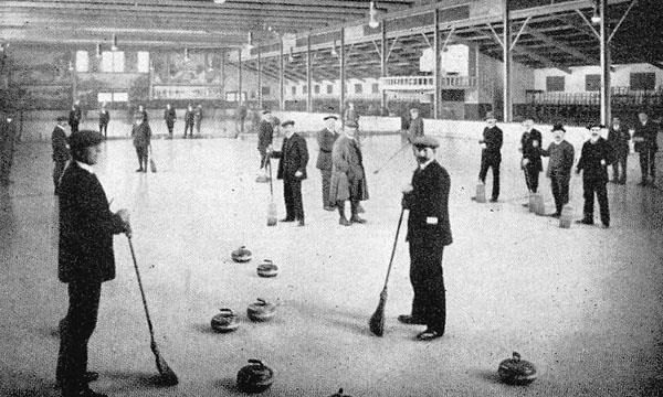 Aberdeen Glaciarium was a huge draw for curlers, skaters and major events from 1912 until 1915.