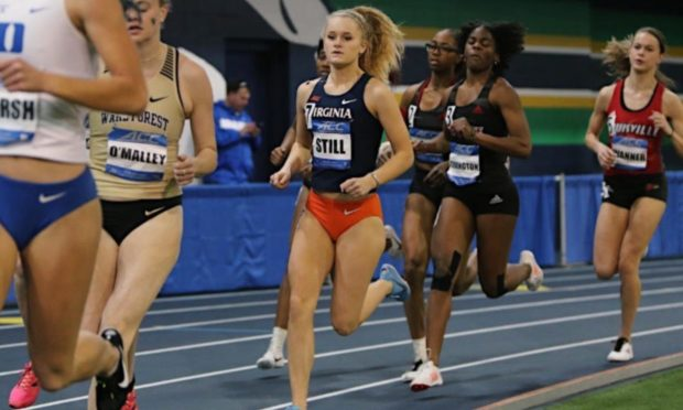 Alix Still is thriving on the US collegiate track and field circuit.